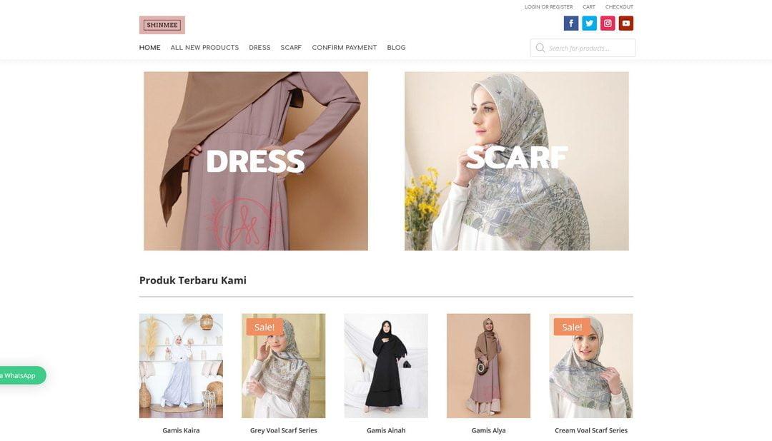 Shinmee Store – Pusatnya Dress & Scarf