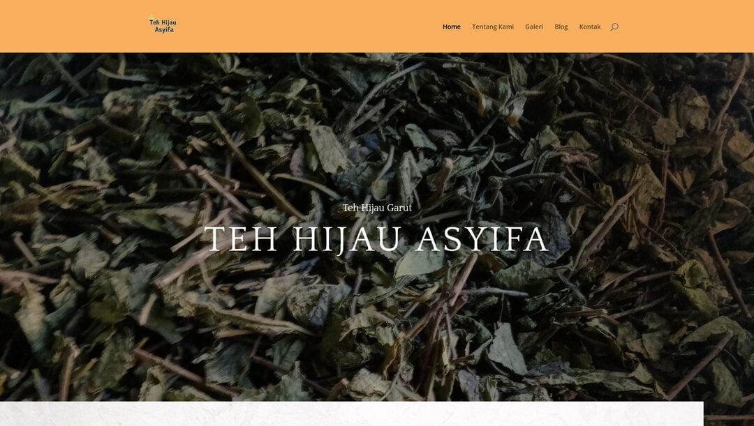 Teh Hijau Asyifa – Teh Hijau Garut 100% Asli
