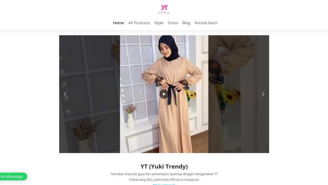 Yuki Trendy – Tempatnya Dress dan Hijab Terbaik